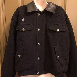 Wyoming Traders Australian Wool Jacket Black M
